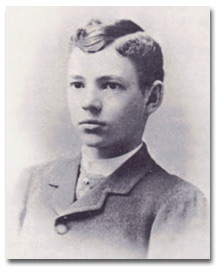 Will Coolidge shortly before beginning his studies at MIT