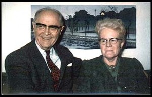 JLA and Margaret Adams in the 1960s