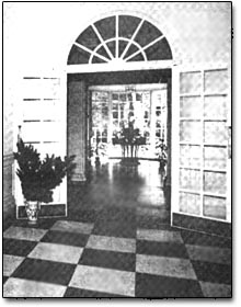 Lobby of the Graduate Center.