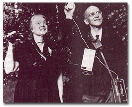 Dorothy and Charles Hartshorne