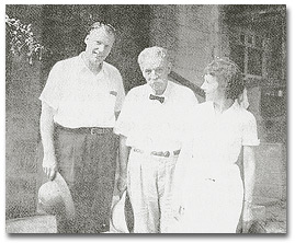Don, Vilma, and Dr. Albert Schweitzer