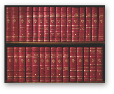"HARVARD CLASSICS: 1909-1914 The Legendary ""Five Foot Shelf of Knowledge."""