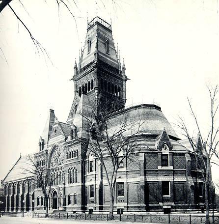 Memorial Hall (1866-1878).
