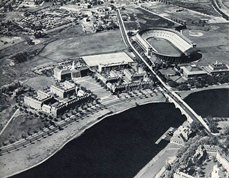 Soldiers Field Stadium (1902). Harvard Business School (1926).