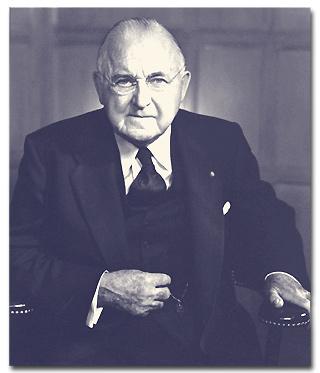 Frank Gannett, 1953.
