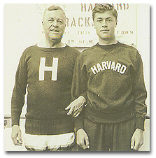 HW and Arthur, Harvard cross country 3-milers, 1899 model and 1931 model.