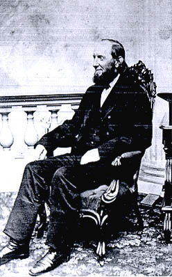 Thomas Hill President from 1862-1868