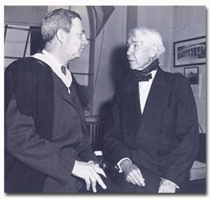 Holmes and Sandburg