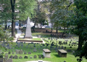 Granary Burial Ground, Boston