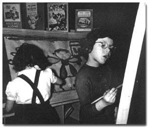 Lismer's art class