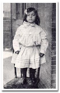 Moseley at age 4