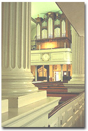 King's Chapel organ