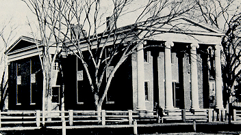 Dane Hall (1832). The first law school building.