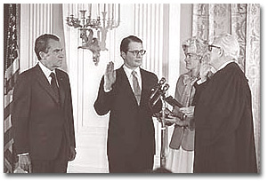 Richardson sworn in