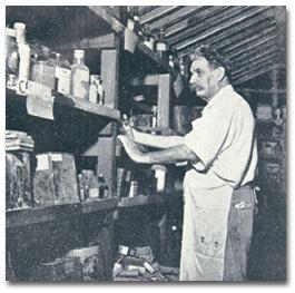 Schweitzer in the pharmacy