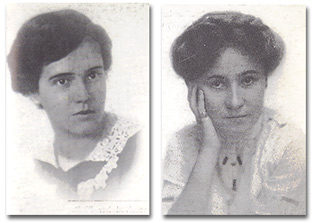 Jessie Taft and Virginia Robinson