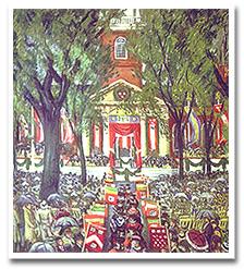 Harvard's tercentenary celebration