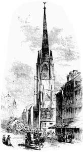 The Second Church in Boston, 1845
