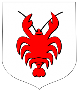 The coat of arms of Rakow, Poland