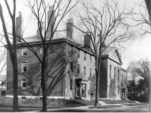 Divinity Hall in 1904