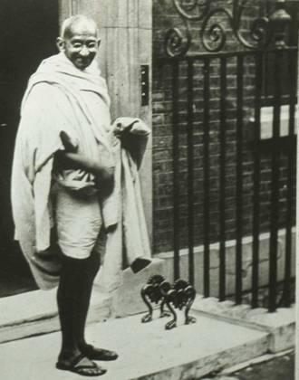 Gandhi in England, 1931
