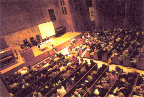 Inside The Community Church of New York