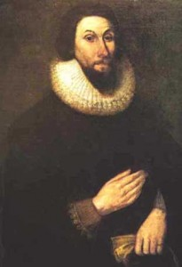 Governor Winthrop of the Massachusetts Bay Colony and his assistants chose the site of Cambridge.