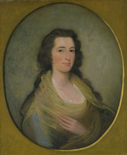 Mrs. Abiel Holmes Portrait by Edward Savage