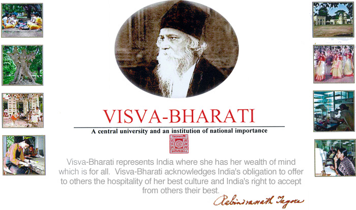 Visva-Bharati website