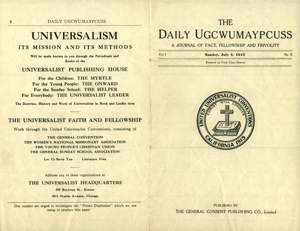 Daily Ugcwumaypcuss page 1