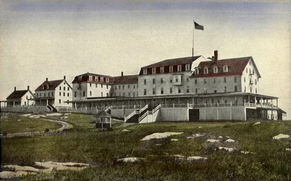The Oceanic Hotel on Star Island in 1910.  To read the complete story about Unitarian Summers off click here!