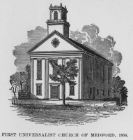First Universalist Church of Medford, 1854