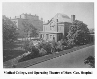 Medical College, Operating Theatre of Mass. Gen. Hospital