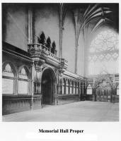Memorial Hall Proper