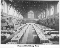 Memorial Hall Dining-Room