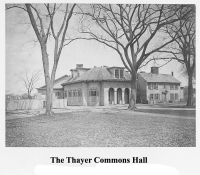 The Thayer Commons Hall