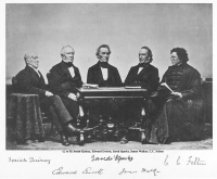 Josiah Quincy, Edward Everett, Jared Sparks, James Walker and C. C. Felton